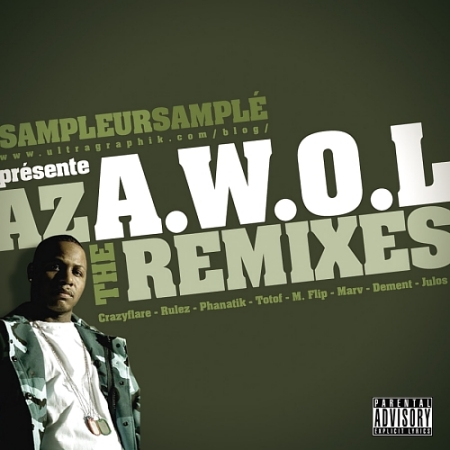 SampleurSamplé présente Az -A.W.O.L (The Remixes) RemixAWOLjulos