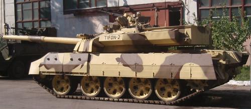 TIFON 2  VS  LEOPARD 2A5 Tifon4