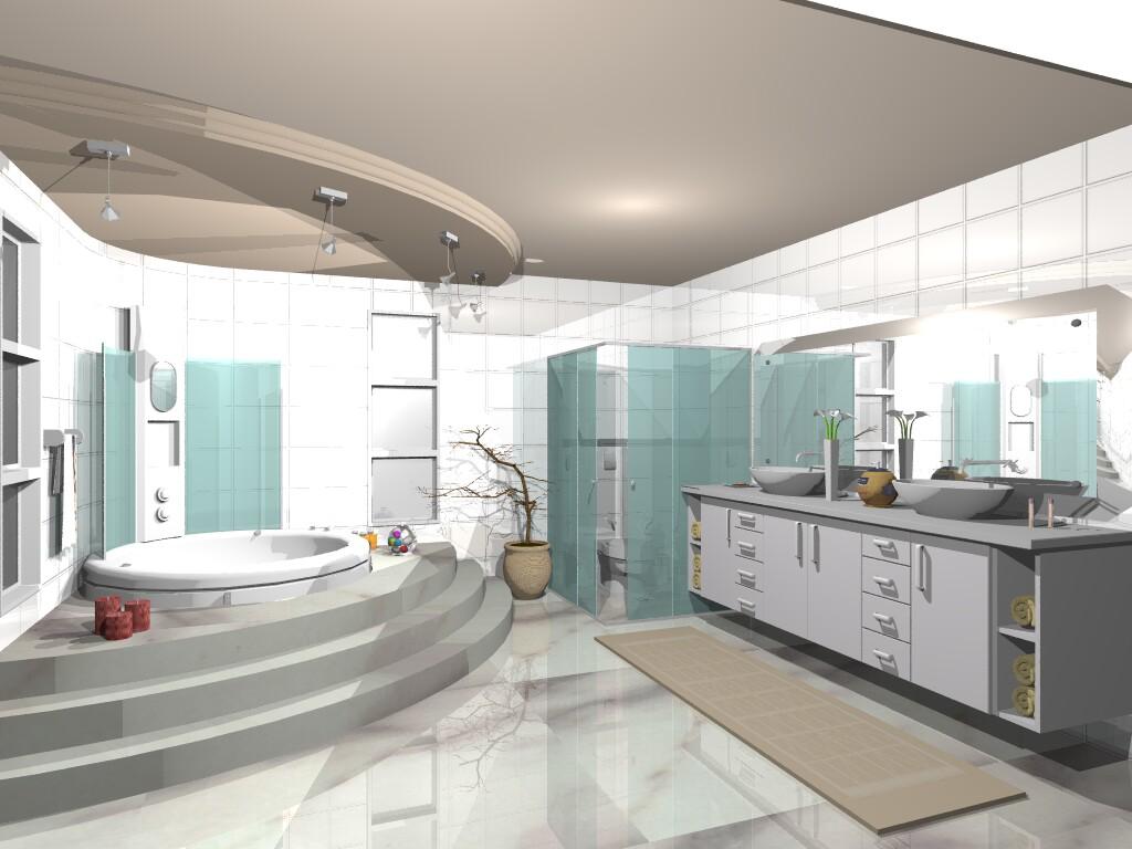 Mobiliario cómodo para el salón de la casita. Fotos-de-cuartos-de-ba%C3%B1os52