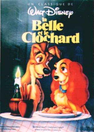 Affiches et documents publicitaires des Grands classiques de Walt Disney - Page 3 Affiche_clochard