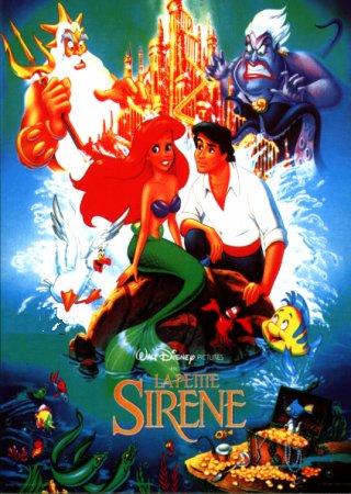 Affiches et documents publicitaires des Grands classiques de Walt Disney - Page 3 Affiche_sirene