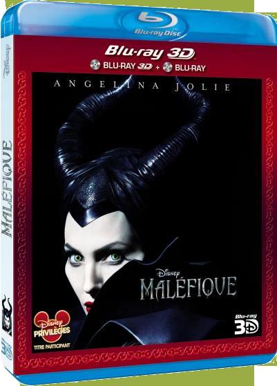 Les jaquettes DVD et Blu-ray des futurs Disney - Page 2 Malefiquebd3dfr