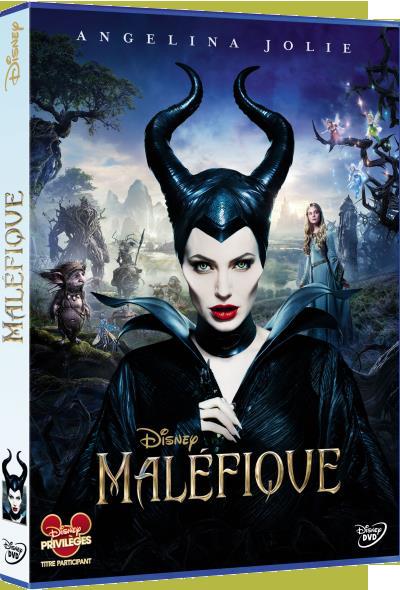 Les jaquettes DVD et Blu-ray des futurs Disney - Page 2 Malefiquedvdfr