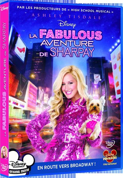 [Disney Channel Original Movie] La Fabulous Aventure de Sharpay (2011) - Page 11 Sharpaydvd
