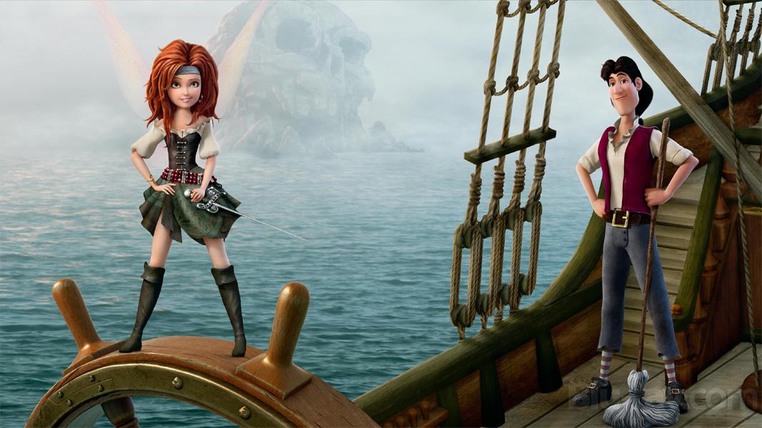 Clochette et la Fée Pirate [DisneyToon - 2014] - Page 5 Clochettepiratepromo2