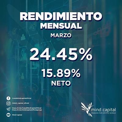 mind.capital - La primera plataforma CRIPTO-FIAT del mundo. MIND-CAPITAL-ROI-MENSUAL