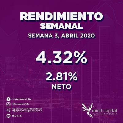 mind.capital - La primera plataforma CRIPTO-FIAT del mundo. MIND-CAPITAL-ROI-SEMANAL