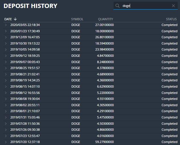 Comprobantes de pagos de los Bots de Telegram. Ya llevo 113 retiros directos a mi wallet. Retiros_bot_DOGEClickBot