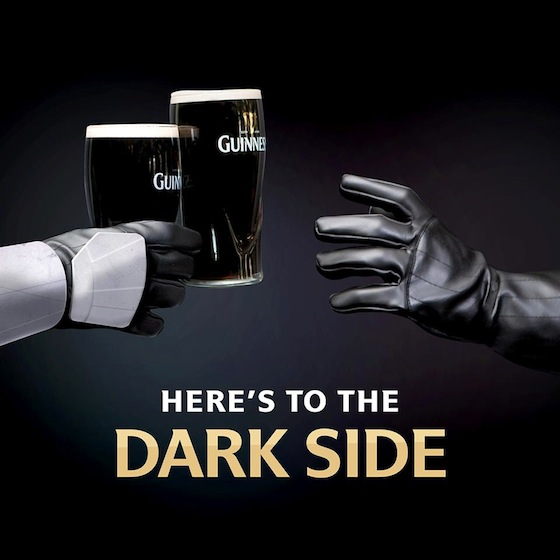 Happy Star Wars Day!  Guinness-May-The-4th