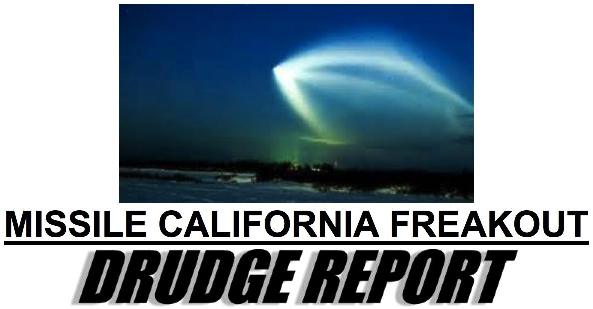 David Wilcock ~ DISCLOSURE SHOWDOWN: The War For The Truth Drudge_missile_california