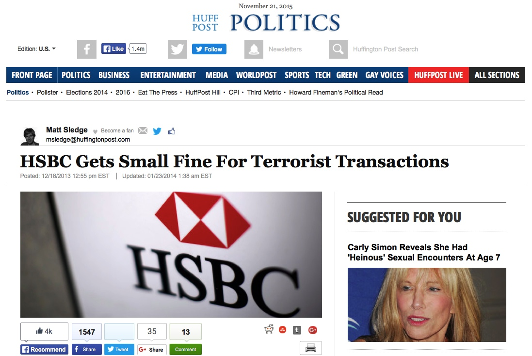 David Wilcock ~ DISCLOSURE SHOWDOWN: The War For The Truth Huff_hsbc_terr_transactions