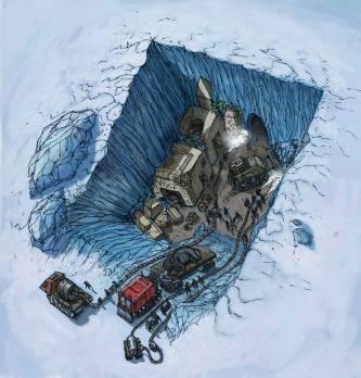 Дэвид Уилкок. Последняя игра 2: Атлантида в Антарктиде и древние инопланетные руины 302_47