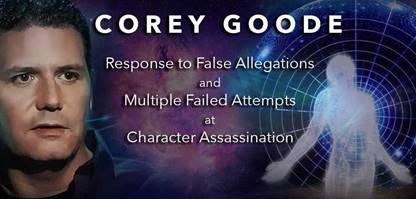 Публичное заявление Кори Гуда - Ответ на лживые заявления и множественные провалившиеся попытки злостной клеветы 505_1