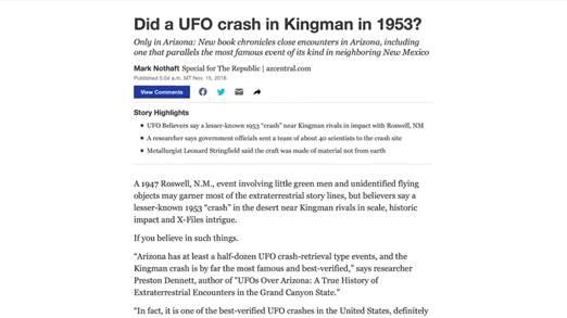 Космическое Раскрытие – 12: Раскрыты выявленные инопланетные технологии. Интервью Эмери Смита с Ричардом Доти 585_4
