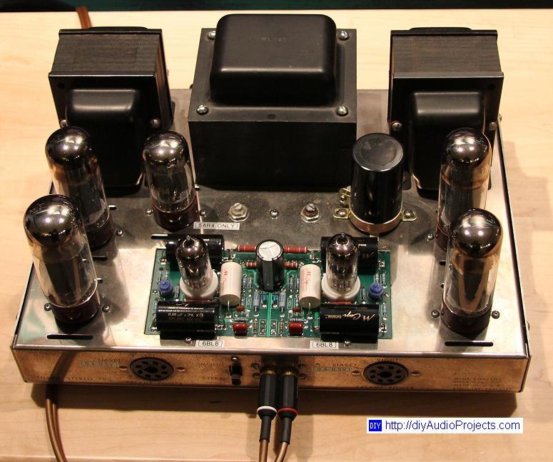 DUDA COMPRA ! ! !    Etapas QUAD II monofónicas VS Dynaco s70     ! ! ! !  DUDA RESUELTA ! ! ! ! Upgraded-Dynaco-ST70-Tube-Amplifier-with-M-Caps