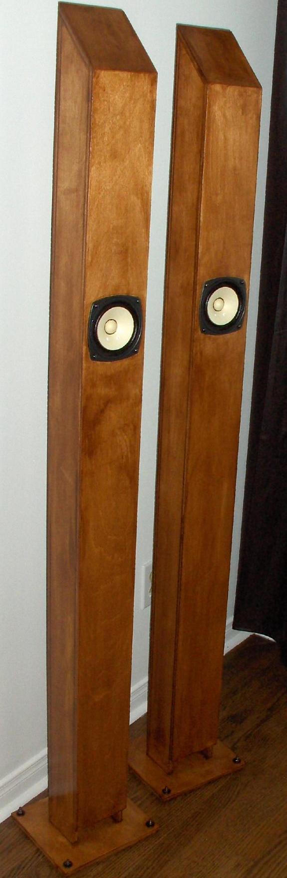 Sala do Luke  Fostex-FE103E-Zigmahornet-Speakers