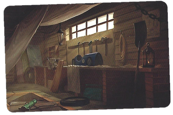 [Animation] Halloween ♦ Galerie de fantômes LieuGarage