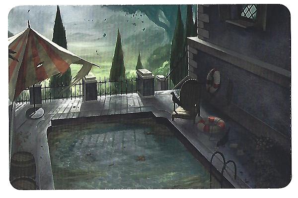 [Animation] Halloween ♦ Galerie de fantômes LieuPiscine