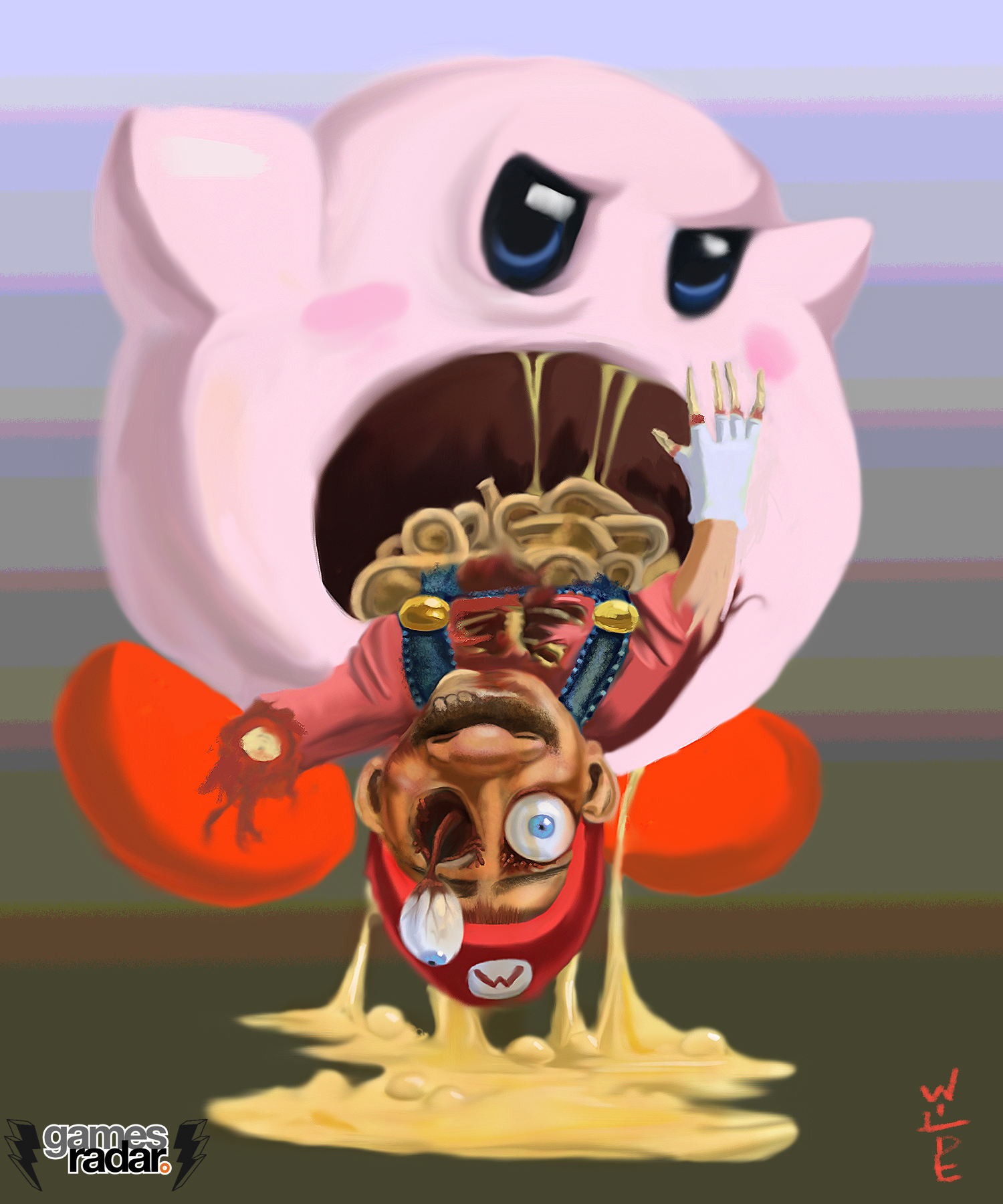 Picture Conversation Kirby
