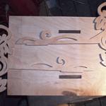 изготовить рамку для свадебной фотографии  5df24c5798