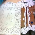изготовить рамку для свадебной фотографии  7dbd135a8c