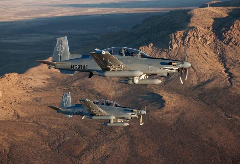 Se define el LAS (Super Tucano versus AT-6 Texan II) AT-6-ca-2011-web-lr