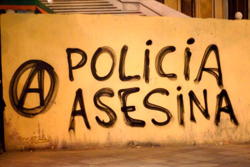 Torturas y malos tratos policiales Policia-asesina