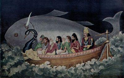 الفيضان العظيم في اساطير و اديان العالم Manu