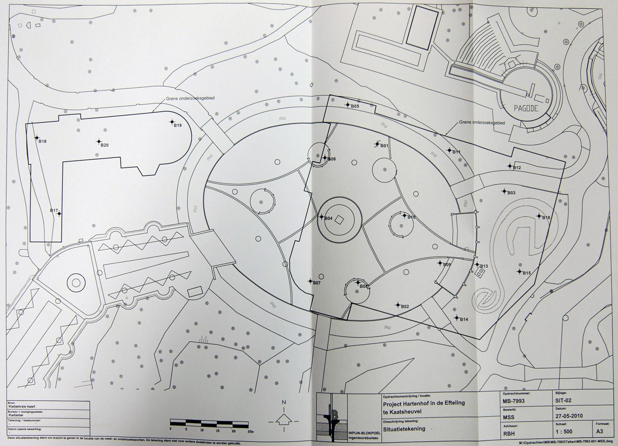 [Pays-Bas] Efteling (1952) - Page 5 Situatietekeningbrink