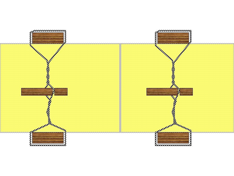 Remplacer le feuillard par la Ficelle Ficelle-plastique