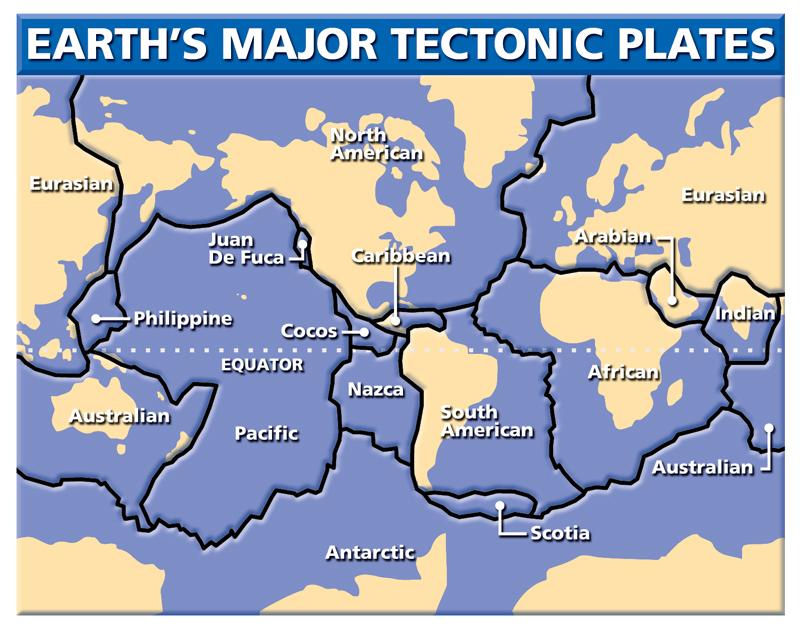 HEADS UP! TECTONIC PLATES SHIFTING NOW! 4-Tectonics