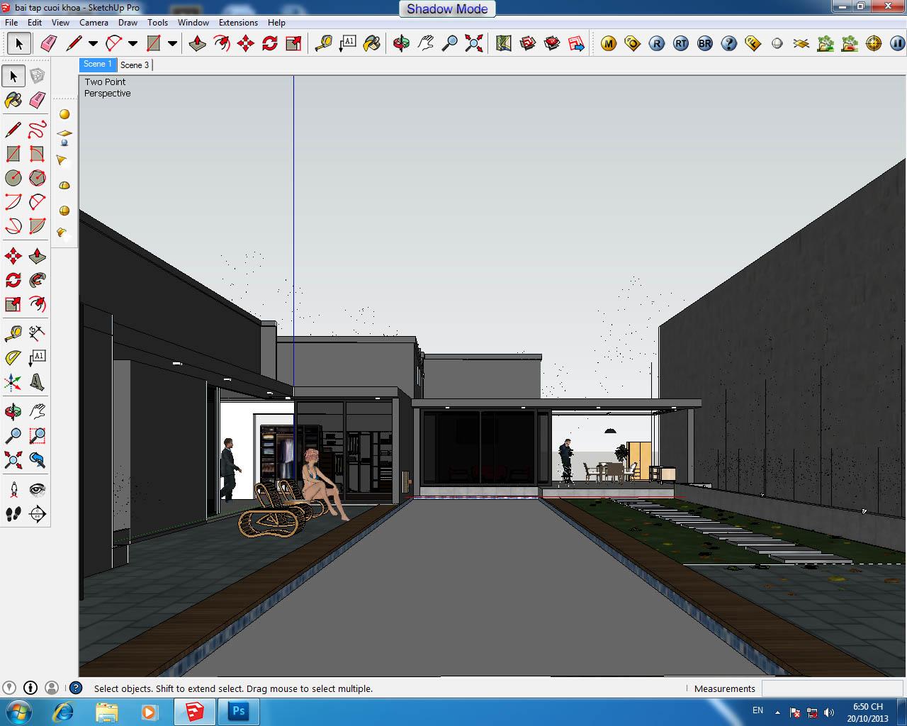 Đào tạo Sketchup uy tín chất lượng tại Gò Vấp, Bình Thạnh, Thủ Đức, tp.HCM Dao-tao-sketchup-o-tp-hcm