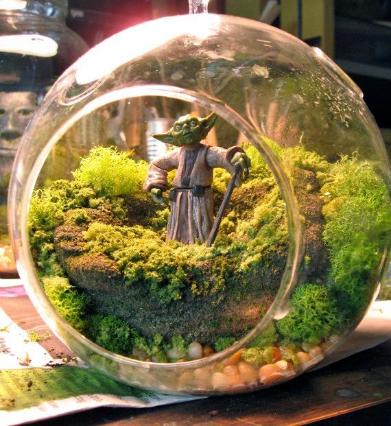 Lustiges zu StarWars - Seite 3 Yoda-Fishbowl