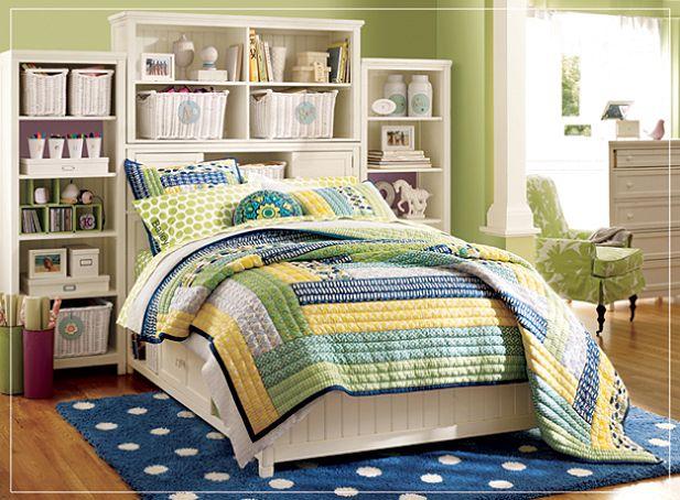 ديكورات باللون الأزرق والأخضر Pb-blue-yellow