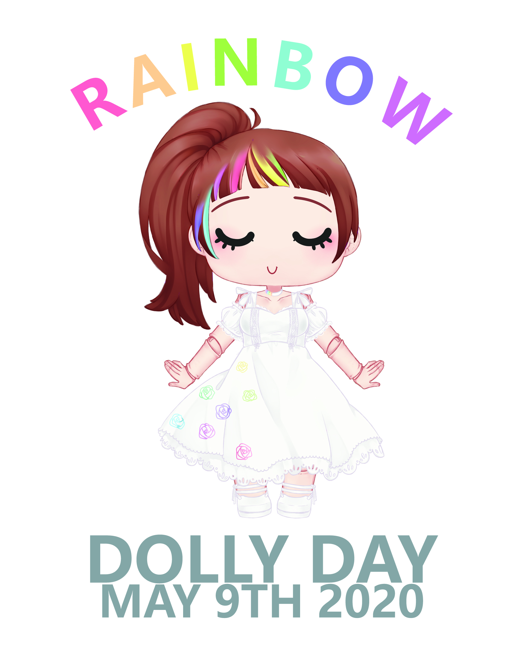 Dolly Day 2020 -  CHANGE DATE: 20-03-2021 RAINBOW