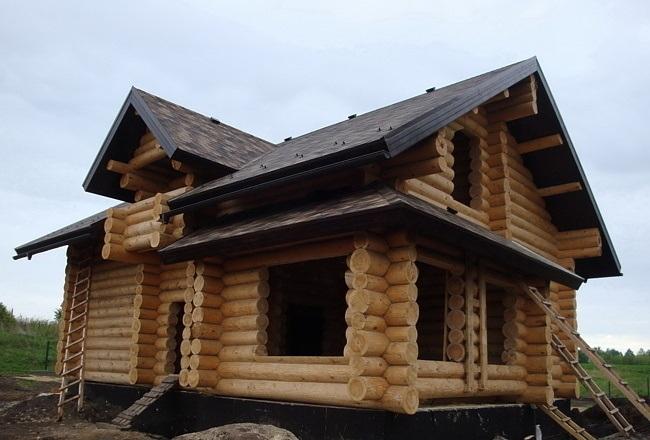 Срубы домов в Уфе и в Башкирии Glavfoto1