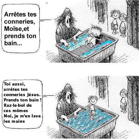 Dark Vador sait-il nager? Moise