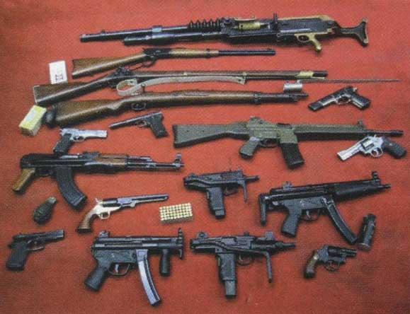 Wenson Military Technology abierto al público. Armas