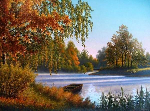 Осень в моем  городе O-V.CHikanov