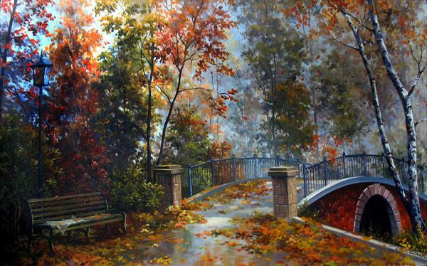 Осень в моем  городе OoGordeeva-Mariya.-Osenniy-park