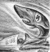 Le 31 Octobre 1941, entrée en guerre des Etats Unis (?) Reuben