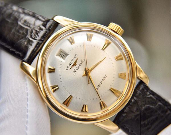 Shop Longines, Omega vàng đúc 14k, Rolex Malaysia nam nữ new fullbox - 46