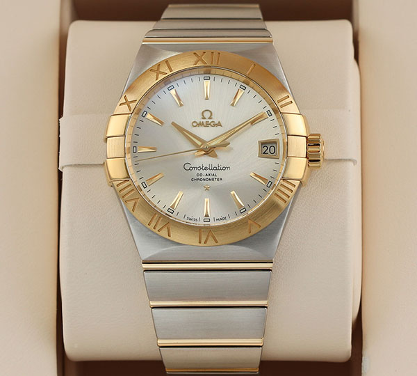 Shop Omega, Longines, FC, Rolex Malaysia 917USd giảm giá còn 2.800.000đ 16.-16-Omega-Constellation-Co-Axial-Chronometer-18K-Gold