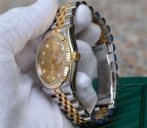 Shop Omega, Longines, FC, Rolex Malaysia 917USd giảm giá còn 2.800.000đ 40-Rolex-Datejust-Demi