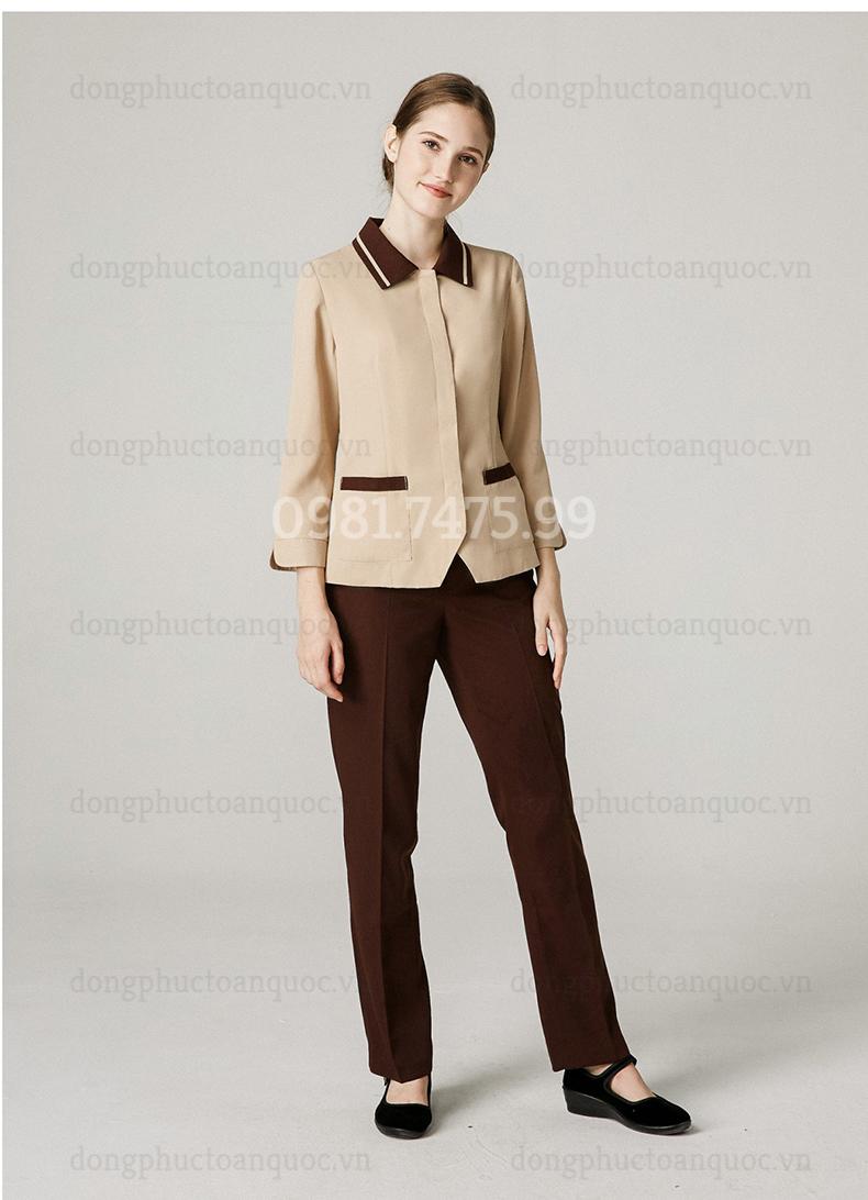 Đồng phục nhân viên buồng phòng thiết kế năng động, trẻ trung, mẫu mới giá rẻ  80%20(1)