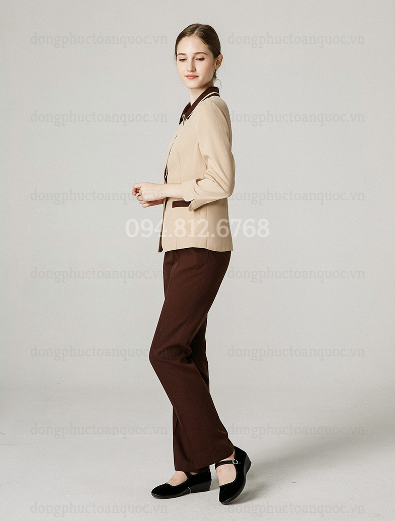 Đồng phục nhân viên buồng phòng thiết kế năng động, trẻ trung, mẫu mới giá rẻ  80%20(3)