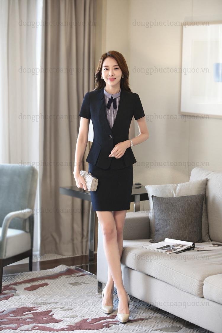 Mẫu đồng phục quản lý Nhà hàng - Khách sạn thời trang không bao giờ lỗi mốt  30f