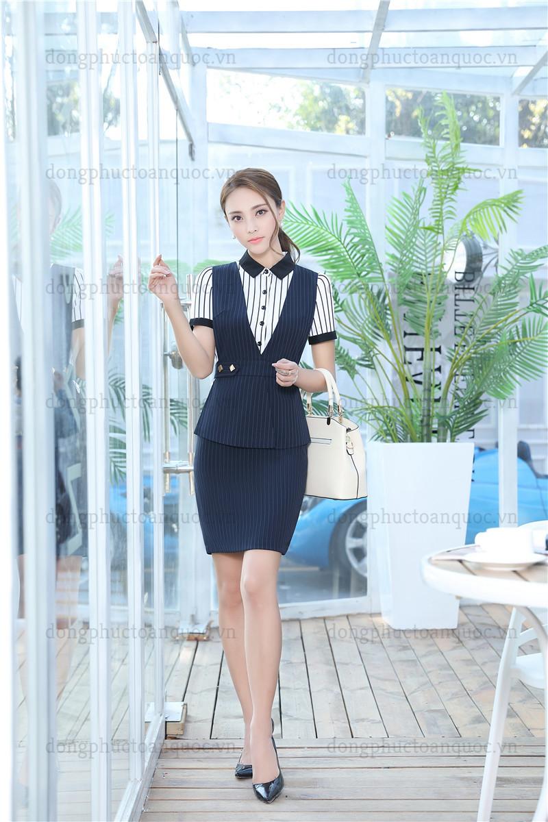 Cả tuần với  rạng rỡ mẫu đồng phục áo gile nữ văn phòng đẹp miễn chê 21%20(10)