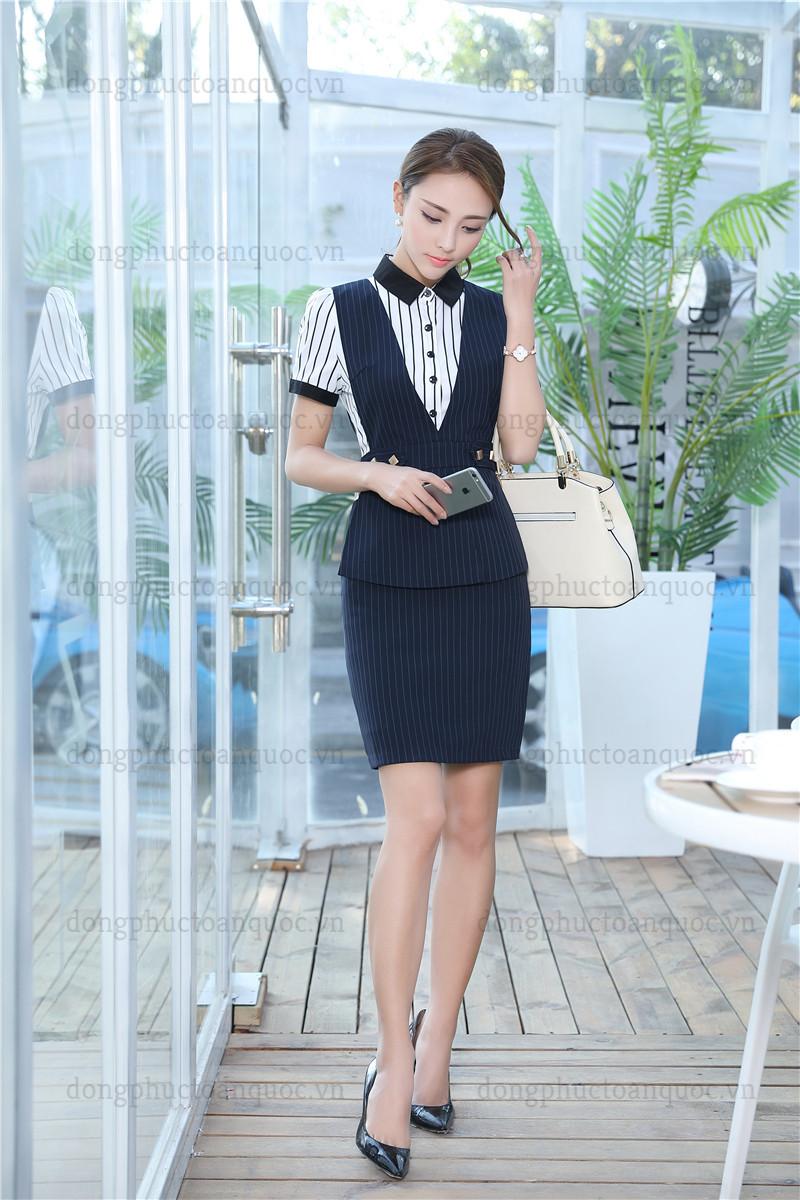 Cả tuần với  rạng rỡ mẫu đồng phục áo gile nữ văn phòng đẹp miễn chê 21%20(15)
