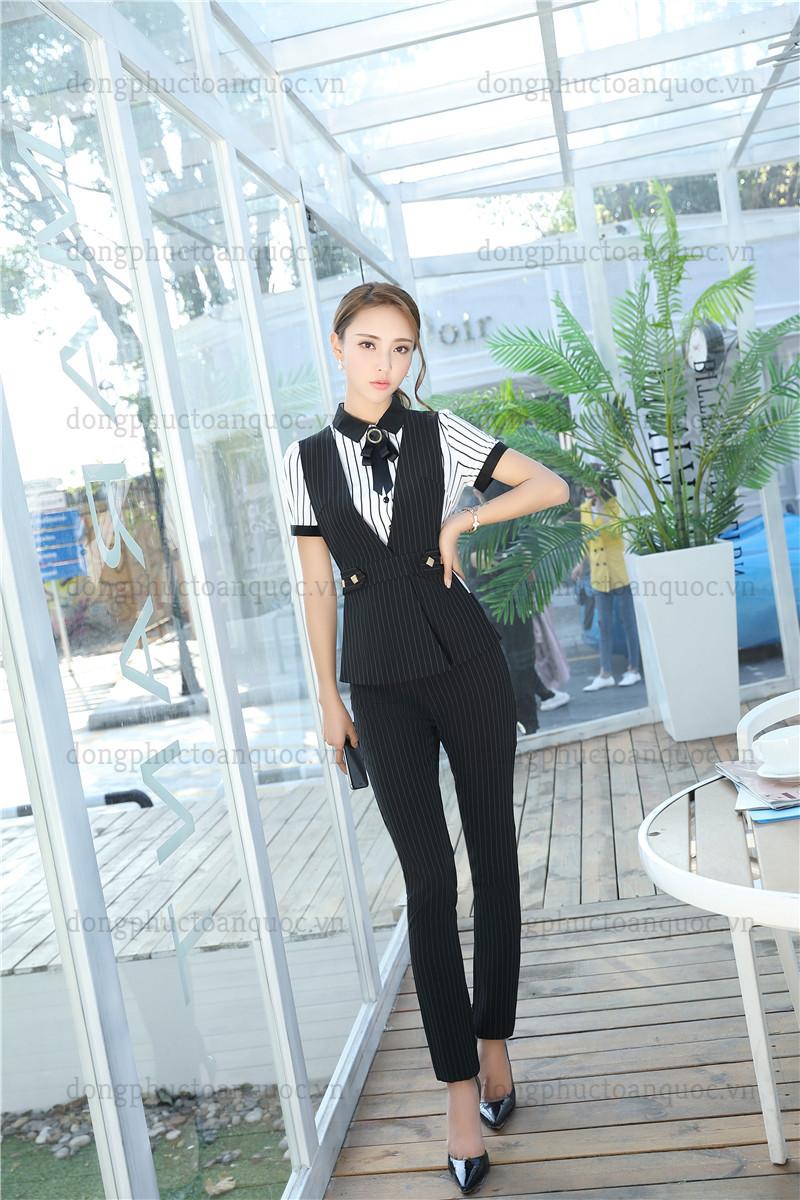 Cả tuần với  rạng rỡ mẫu đồng phục áo gile nữ văn phòng đẹp miễn chê 21%20(3)